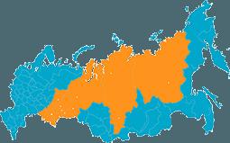 Работаем по всей России