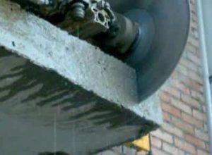 Демонтаж бетона алмазным диском