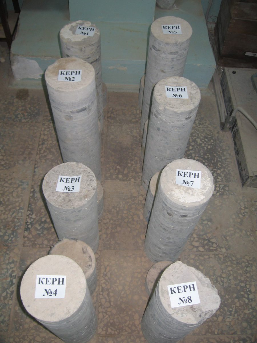 Керн бетона это фибробетон в стяжку
