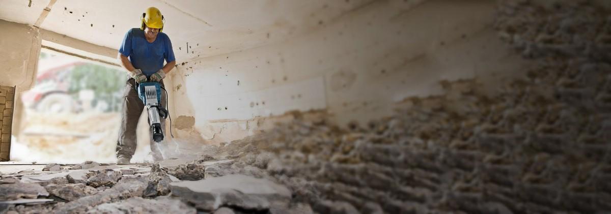 Демонтажные работы в Екатеринбурге под ключ