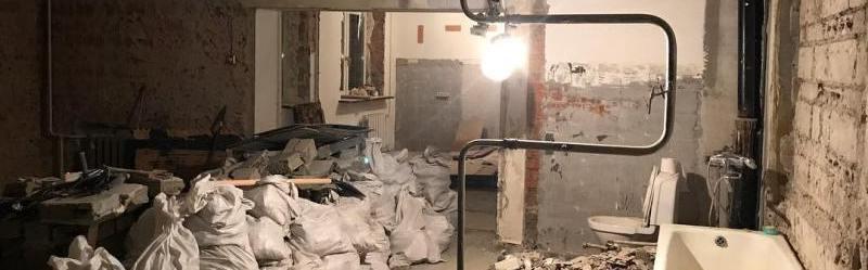 демонтаж стен в Екатеринбурге